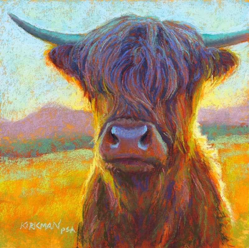 """Shaggy"" original fine art by Rita Kirkman"