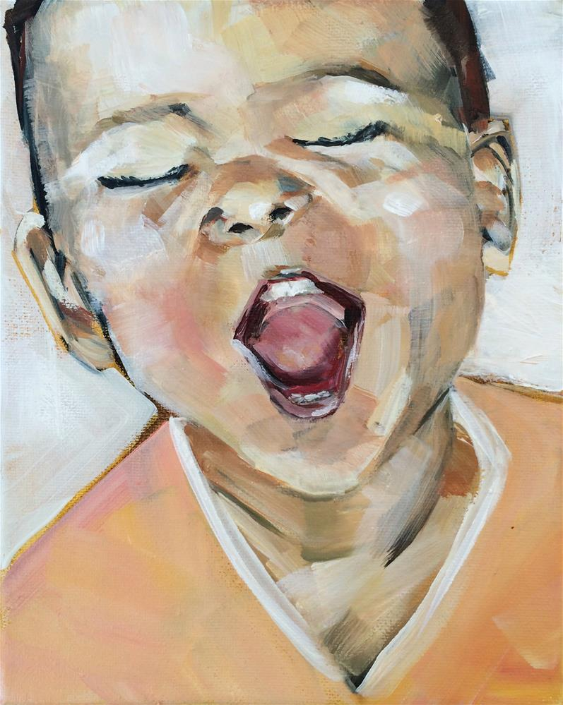 """Joy of Childhood"" original fine art by Denise Hopkins"