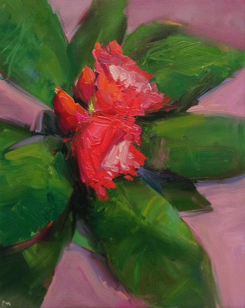 """Morning Rhodie"" original fine art by Patti McNutt"