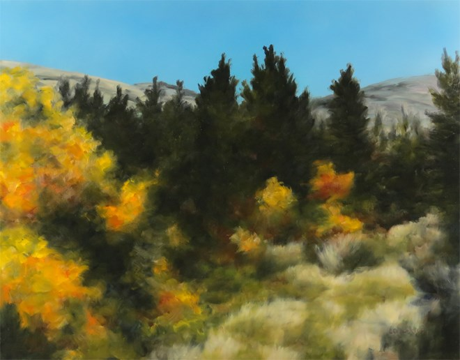 """Golden Wilderness"" original fine art by Carol Zirkle"