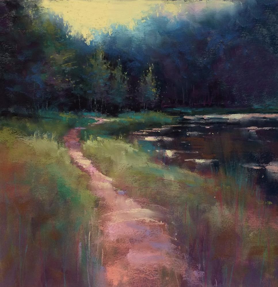 """Summer Walk"" original fine art by Marla Baggetta"