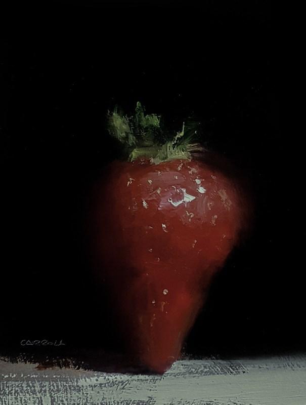 """Strawberry"" original fine art by Neil Carroll"