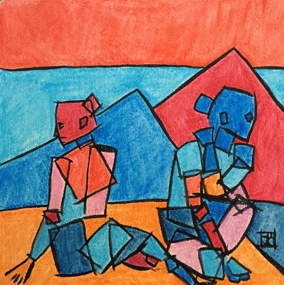 """Untitled"" original fine art by Arron McGuire"
