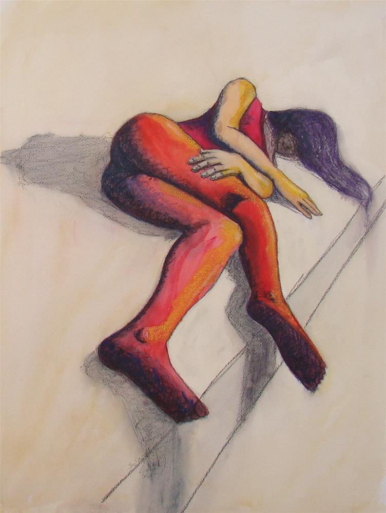 """""""Edge"""" original fine art by Vito Cagnazzo"""