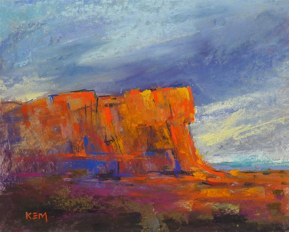 """3 in 5 Art Challenge...the Southwest"" original fine art by Karen Margulis"