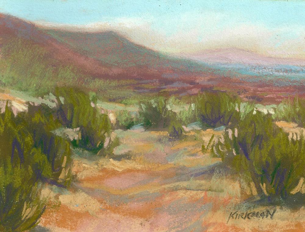 """Into the Valley"" original fine art by Rita Kirkman"