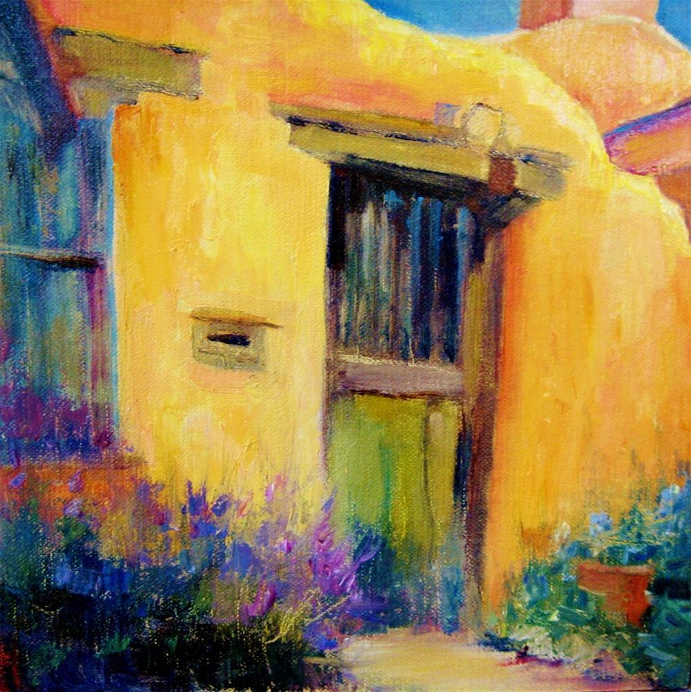 """Santa Fe Lavender"" original fine art by Scarlet Owl Studio"