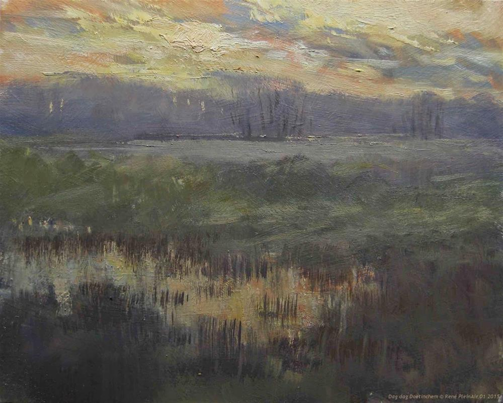 """Goodbye Day Doetinchem The Netherlands"" original fine art by René PleinAir"