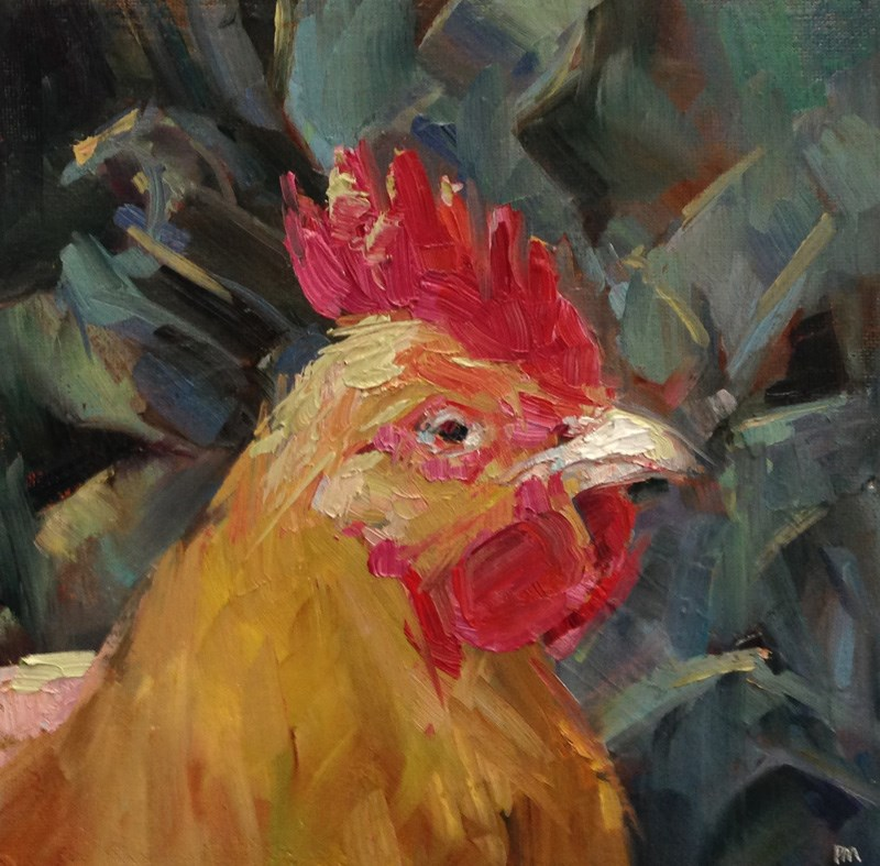 """Henrietta's Facebook Profile Photo"" original fine art by Patti McNutt"