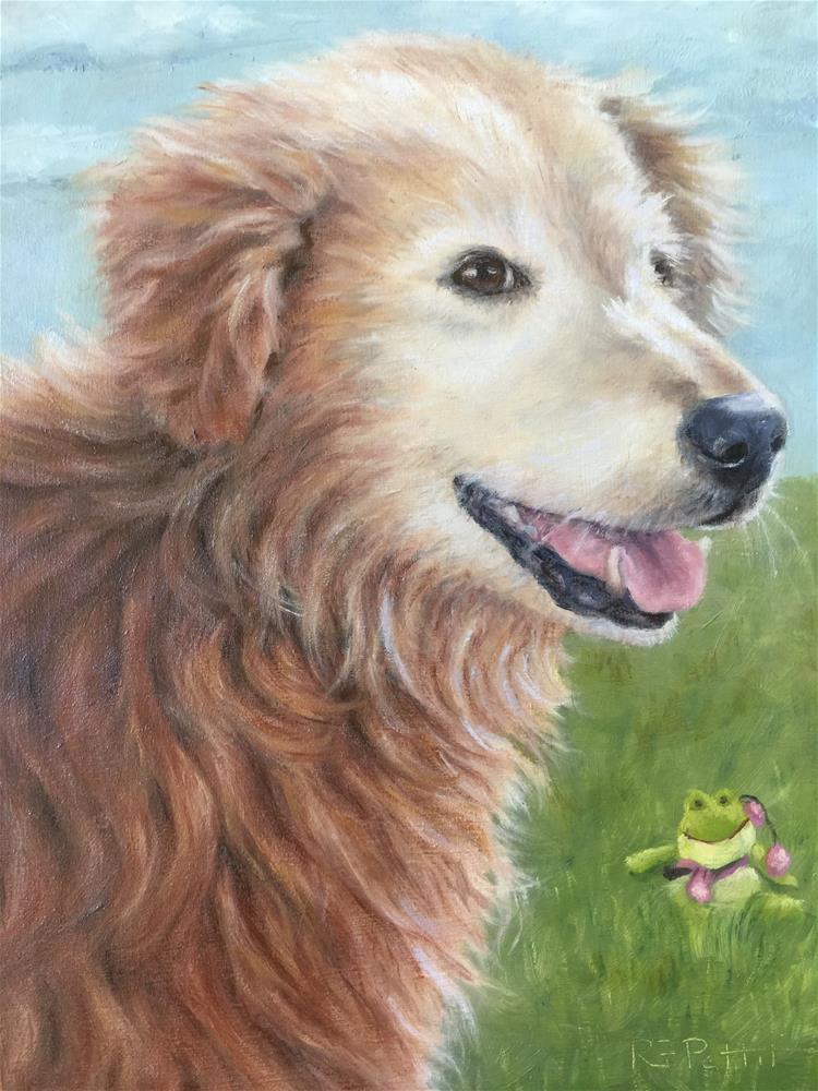 """Cozmo (commission)"" original fine art by Rhea  Groepper Pettit"