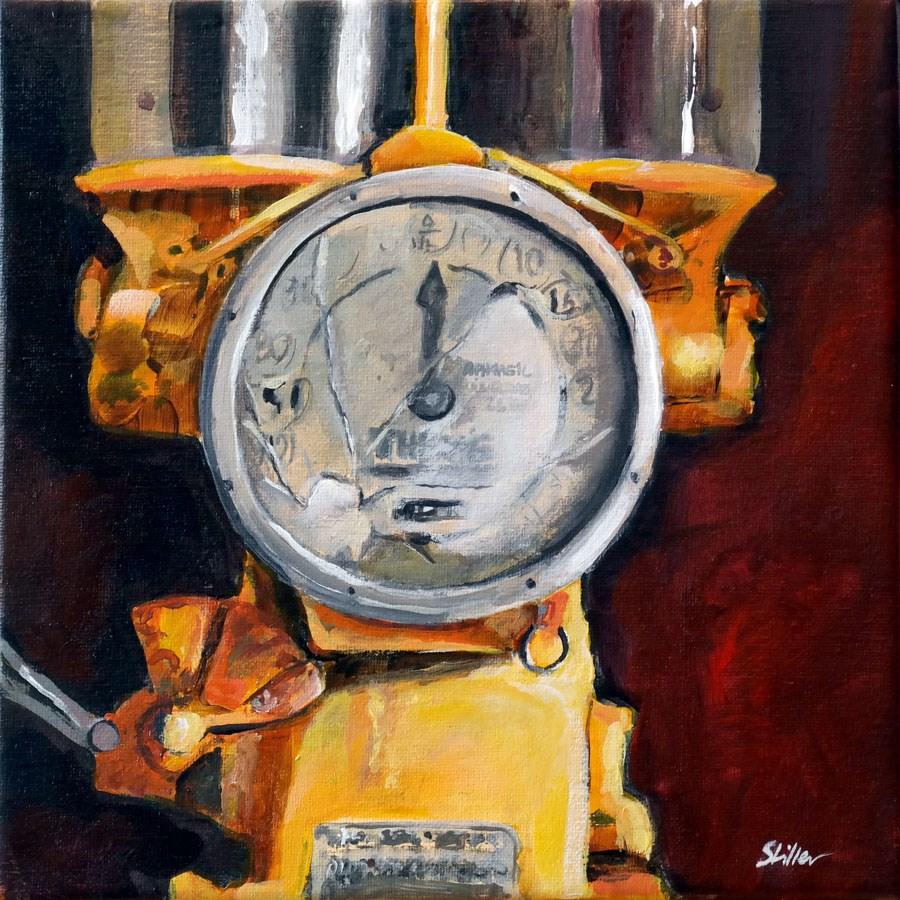 """""""1441 Punp it Up"""" original fine art by Dietmar Stiller"""