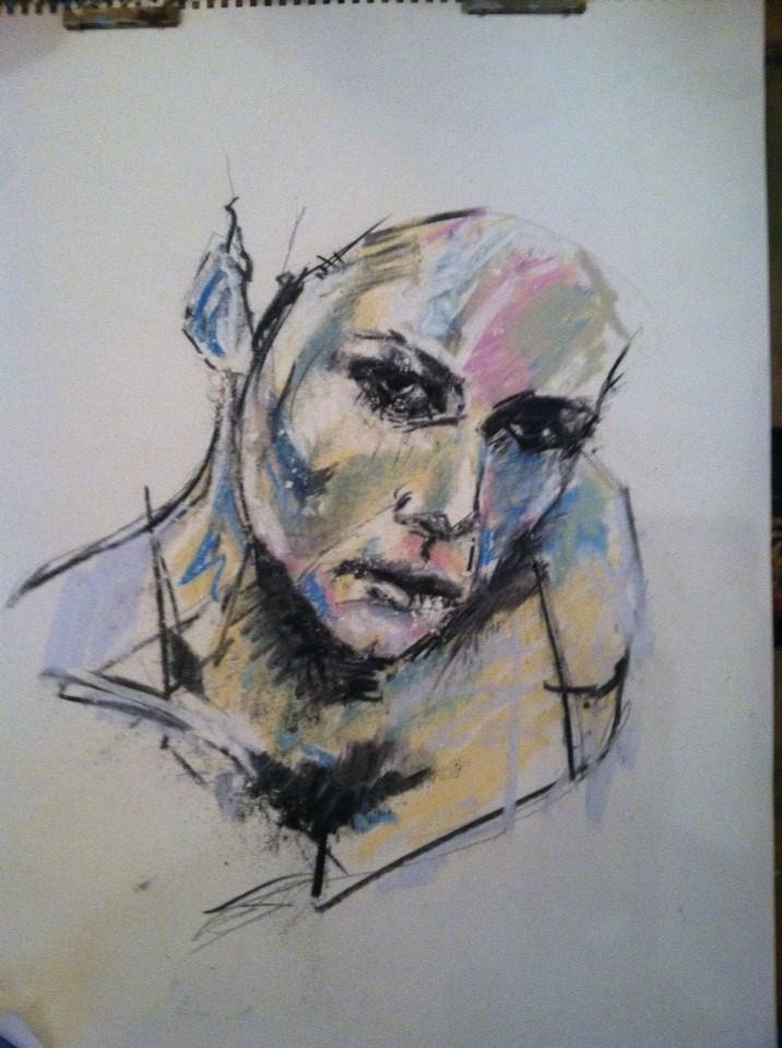 """Untitled"" original fine art by paul smith"