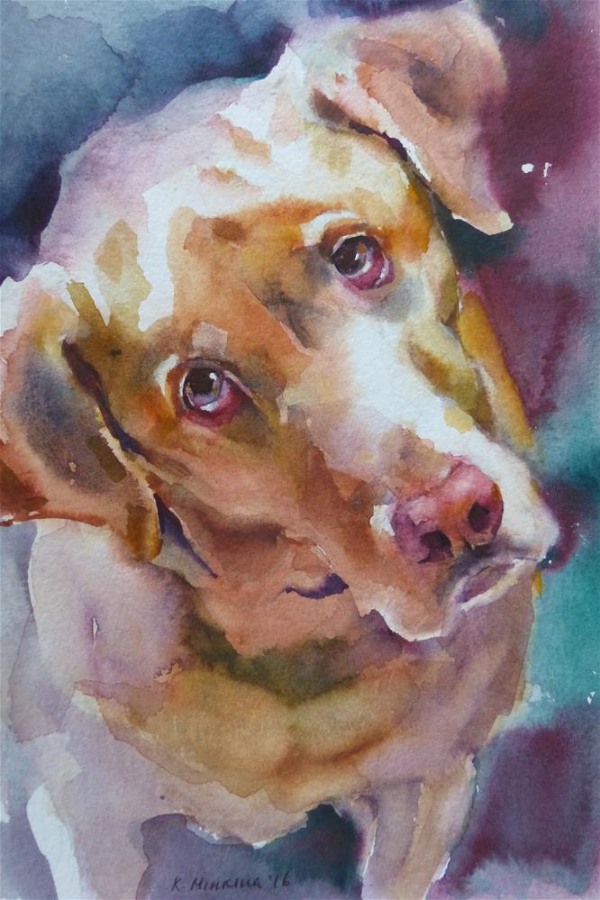 """adopt171 - Bo"" original fine art by Katya Minkina"