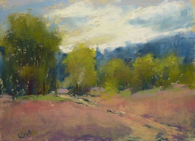 """Reviewing a Month of Plein Air Workshops....New Mexico!"" original fine art by Karen Margulis"