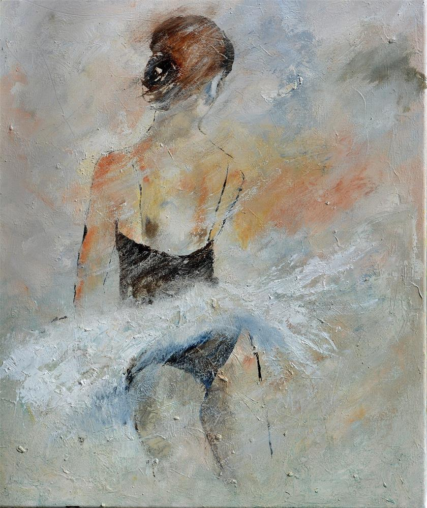 """Ballet dancer"" original fine art by Pol Ledent"