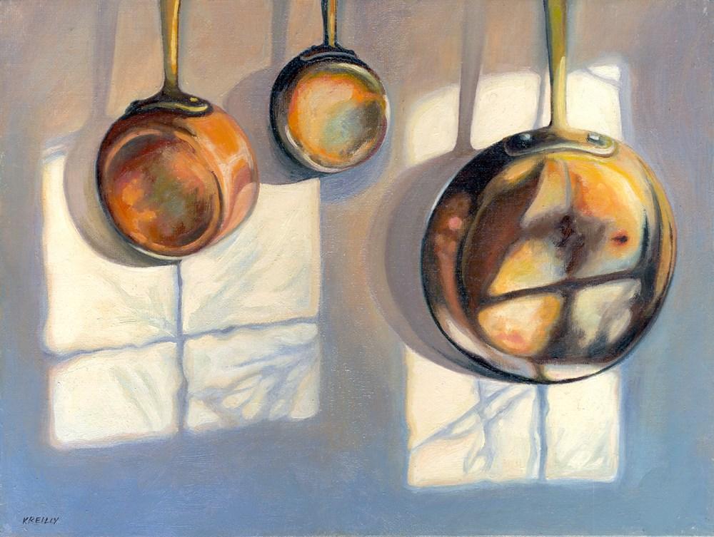 """""""Kitchen Shadows"""" original fine art by Kath Reilly"""