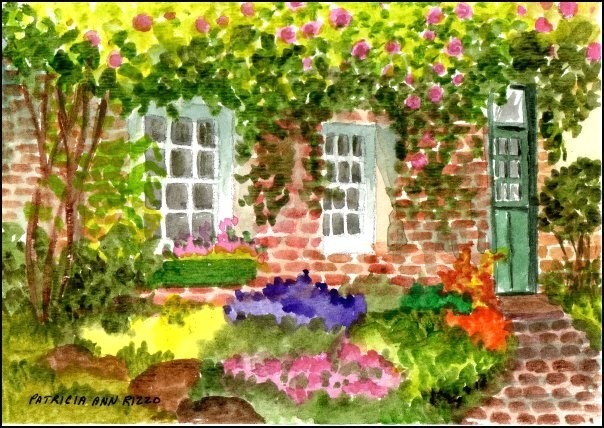 """Summer's Beauty"" original fine art by Patricia Ann Rizzo"