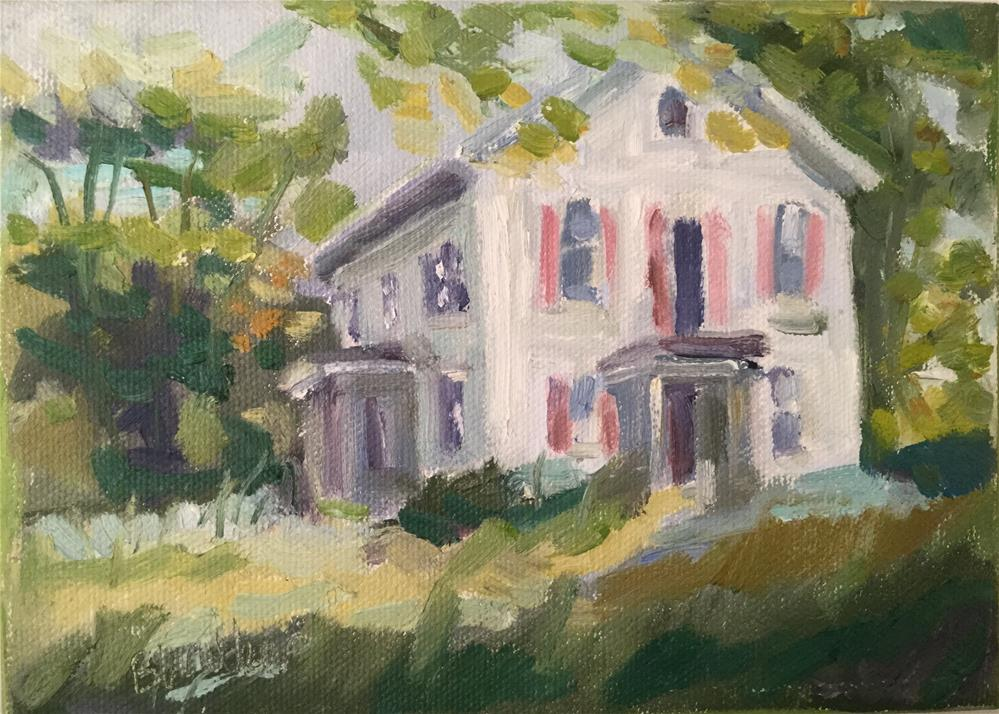 """The Proposal"" original fine art by Barb Walker"