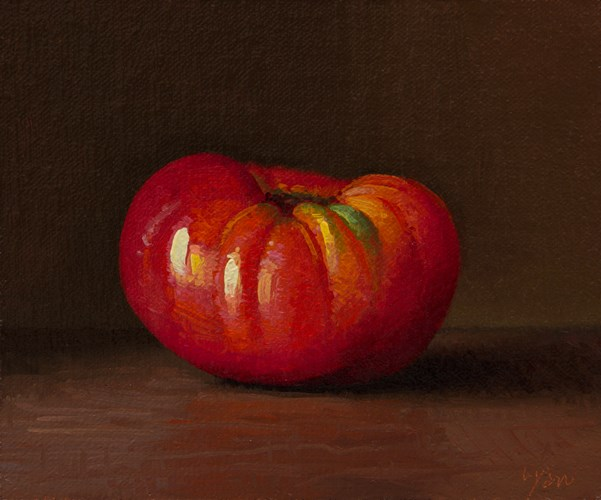 """Homegrown Tomato"" original fine art by Abbey Ryan"