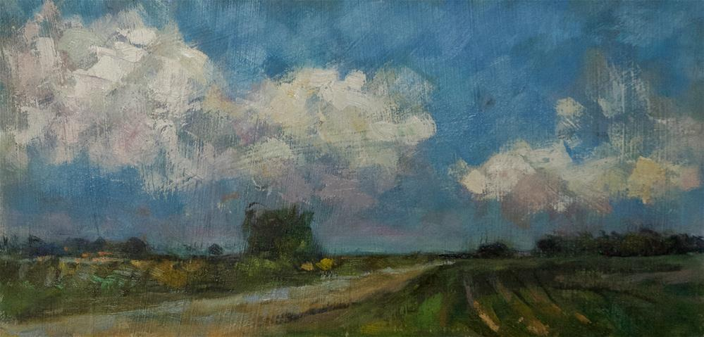 """Land near Chichester"" original fine art by Andre Pallat"
