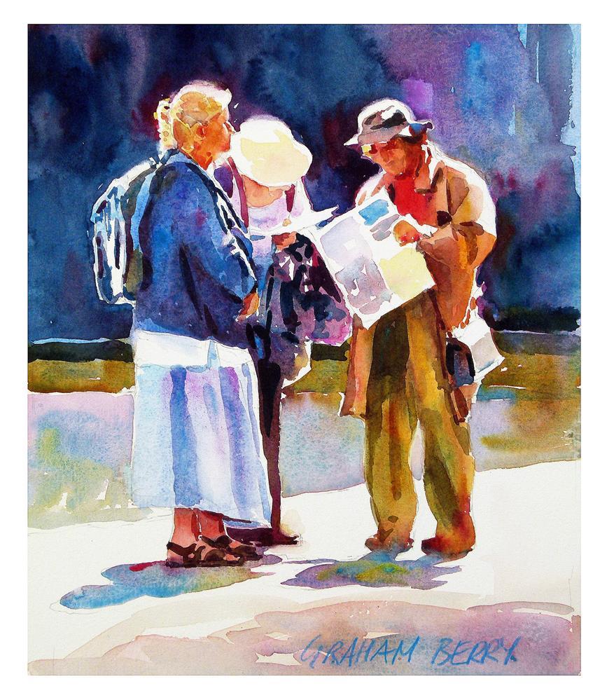 """Still looking"" original fine art by Graham Berry"