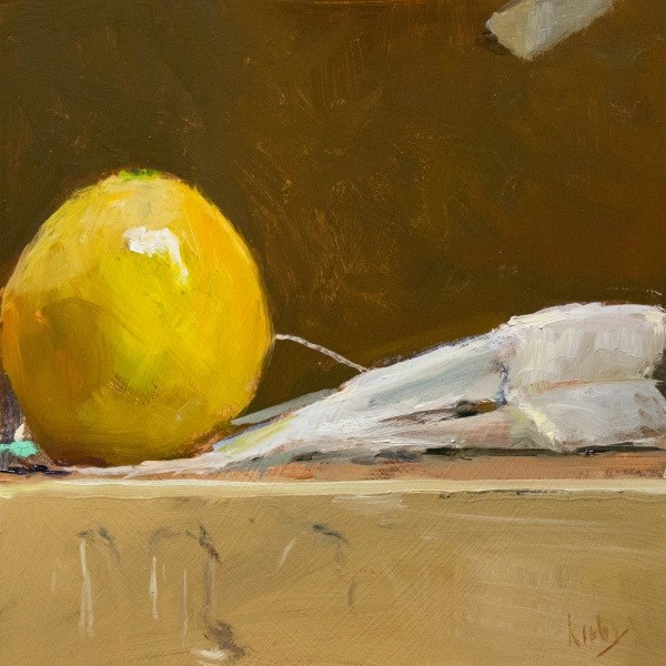 """Foul Play"" original fine art by Randall Cogburn"