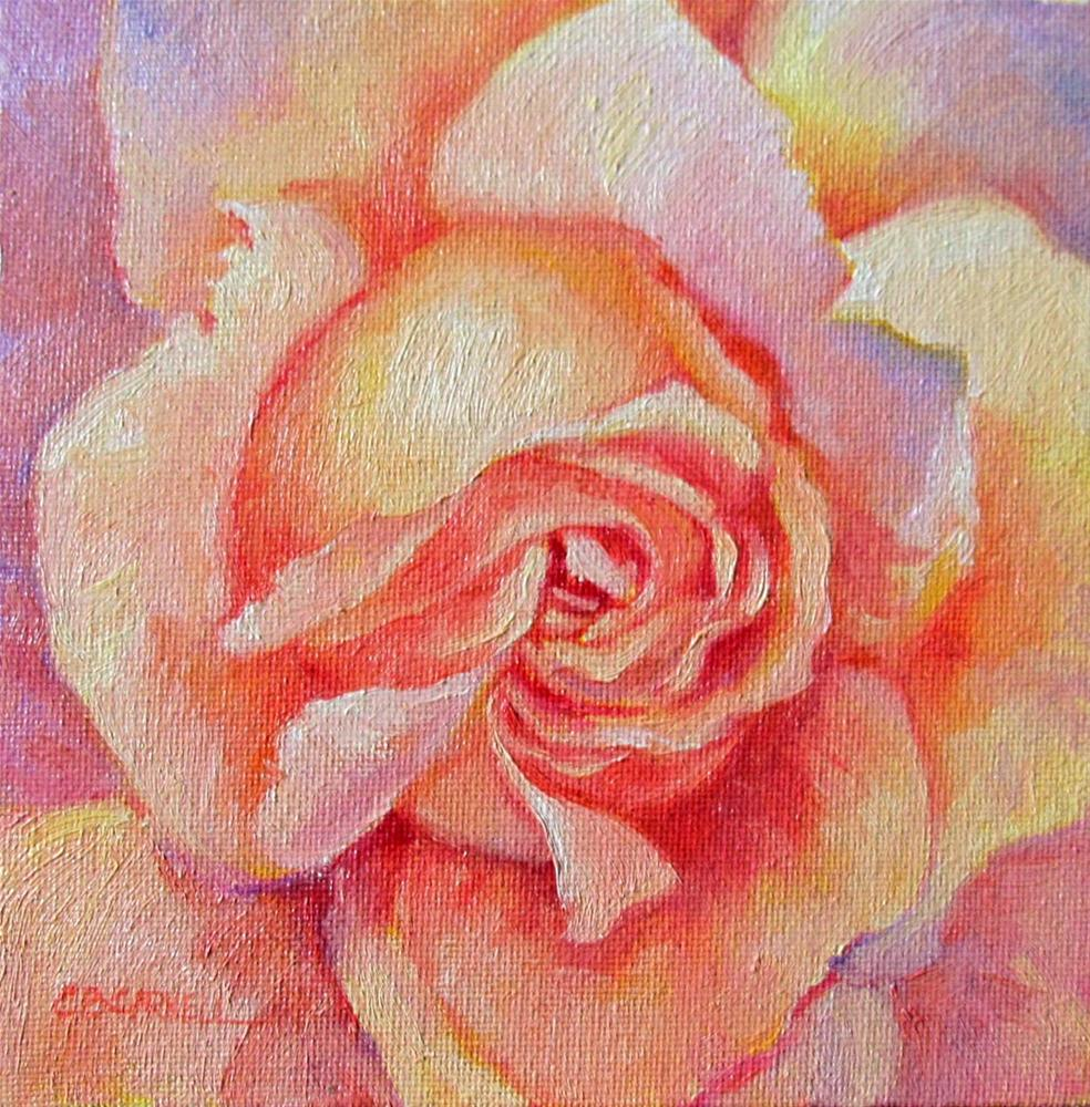 """Rose Fantasy"" original fine art by Claire Beadon Carnell"