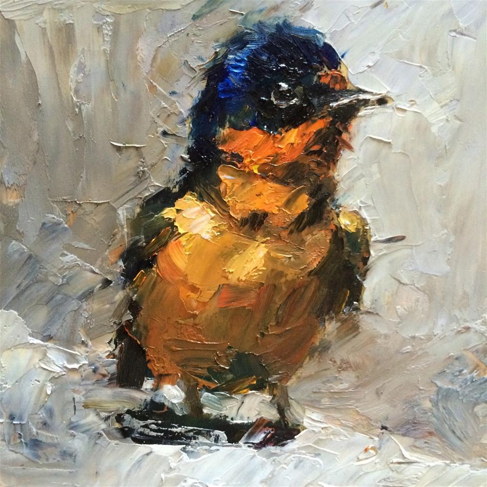 """""""bird#1"""" original fine art by Anny Kong"""