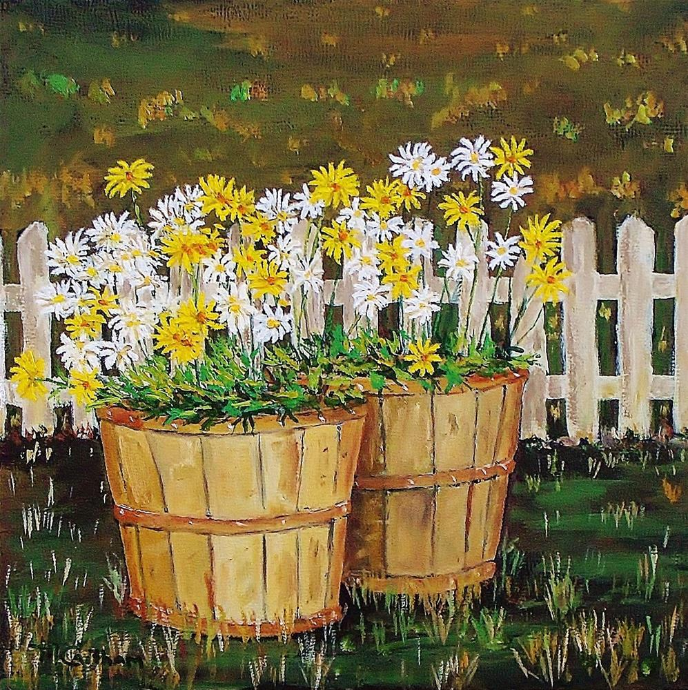 """Daisy Crazy"" original fine art by Mike Caitham"