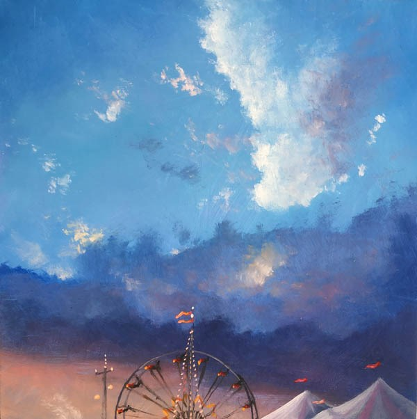 """BIGTOP"" original fine art by Gerald Schwartz"