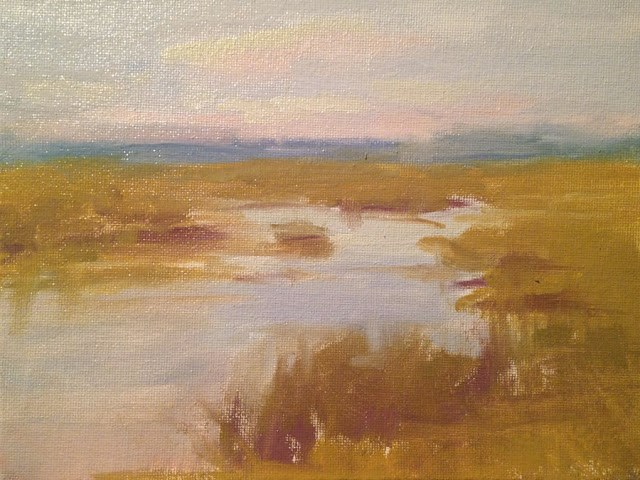"""Marshes"" original fine art by Fine Art of René"