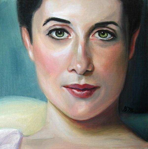 """Lady Agnew Study"" original fine art by Gretchen Matta"