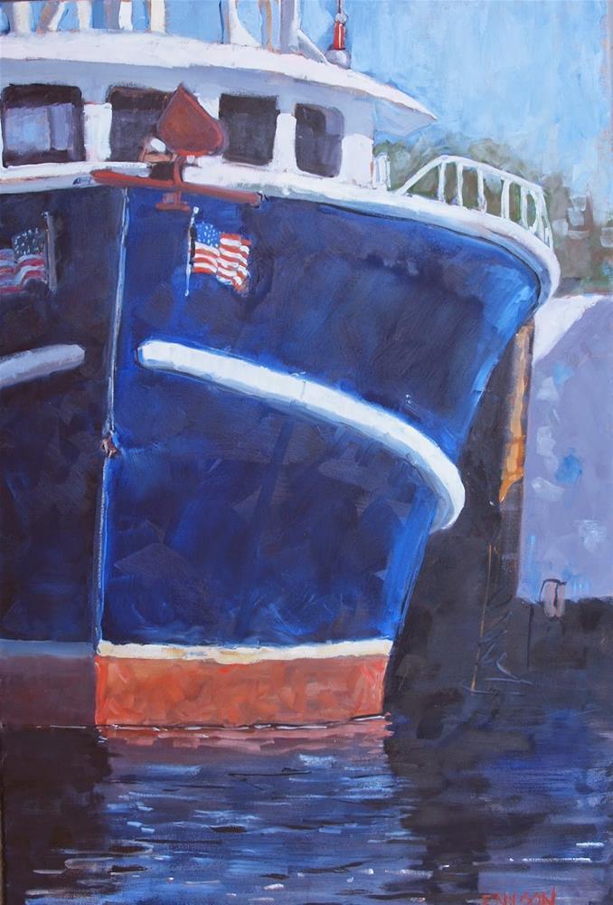 """Gulf Stream III"" original fine art by Rick Nilson"