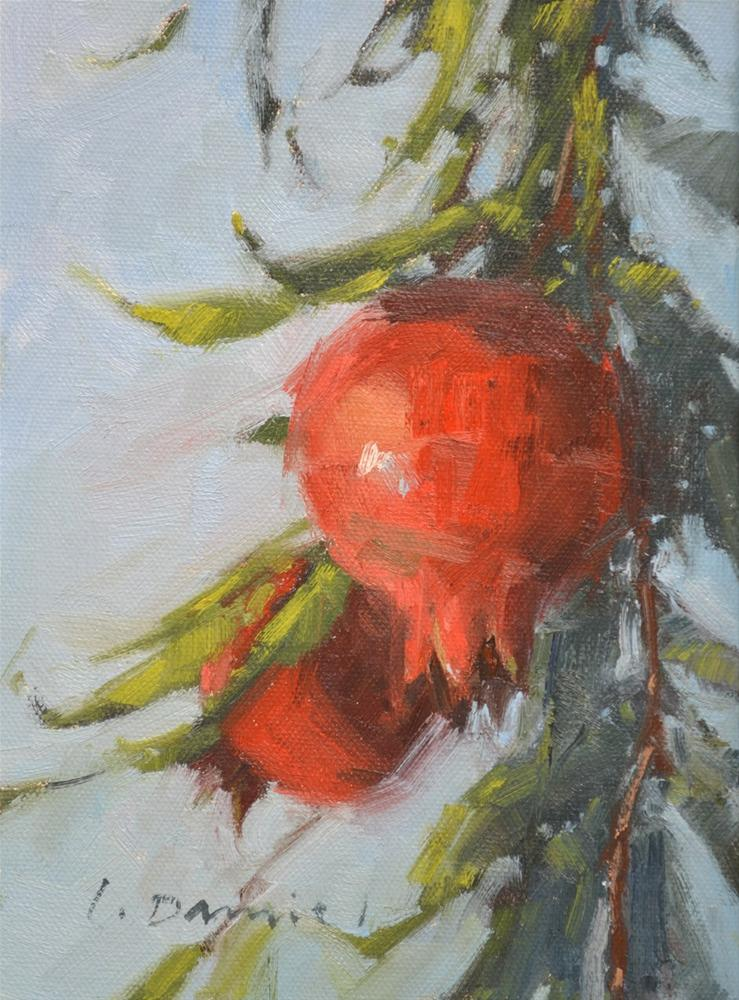 """Abundant Harvest (study) and a commission piece"" original fine art by Laurel Daniel"