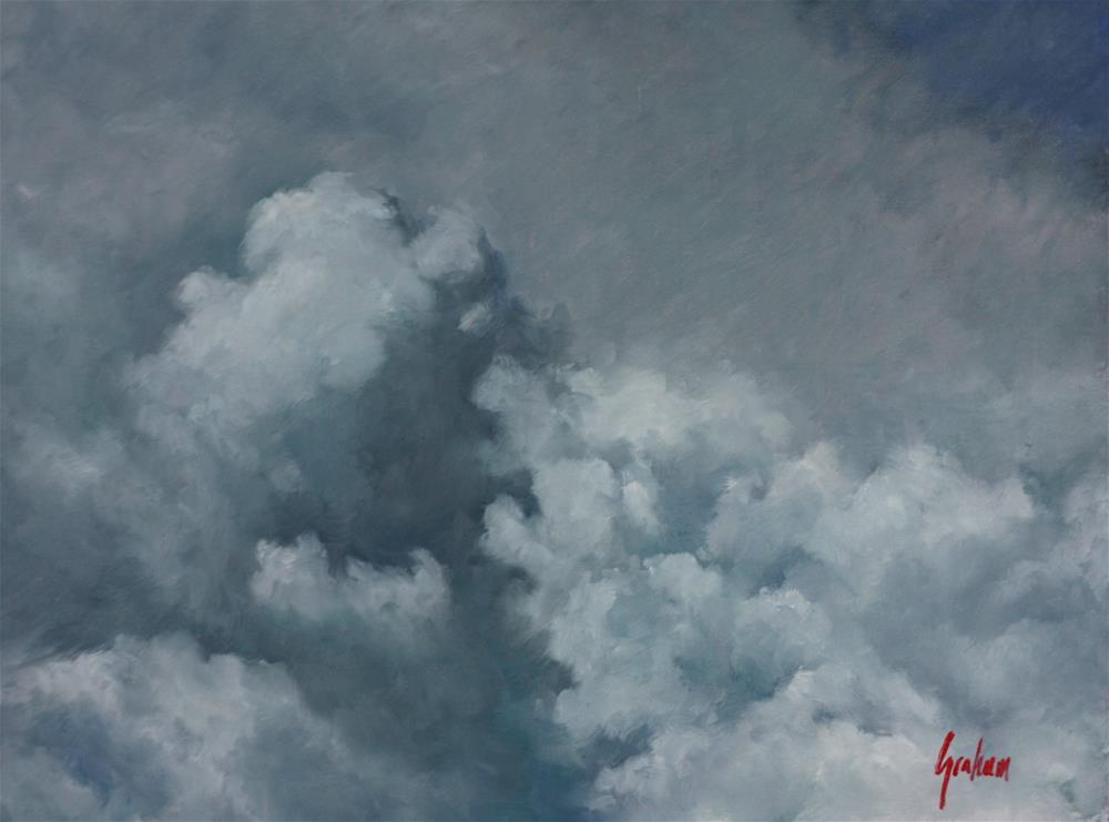 """Sky #1"" original fine art by Graham Townsend"