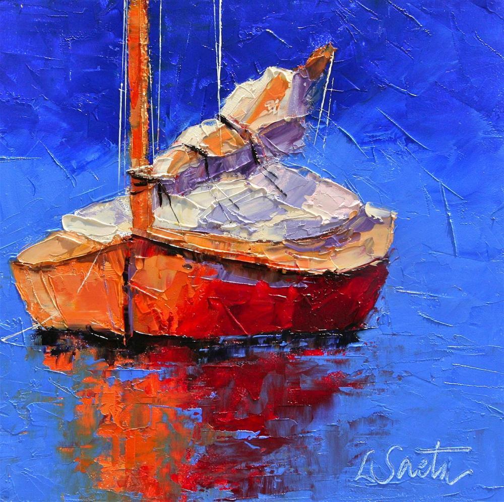 Resting original fine art by Leslie Saeta
