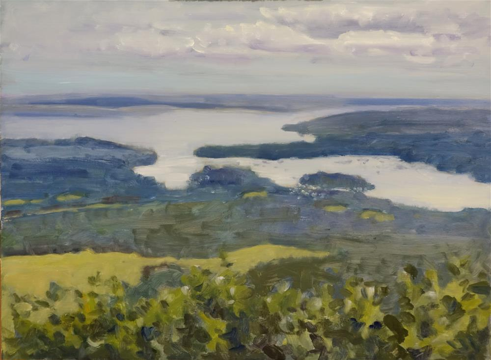 """Maine Coast"" original fine art by Blake Hurt"