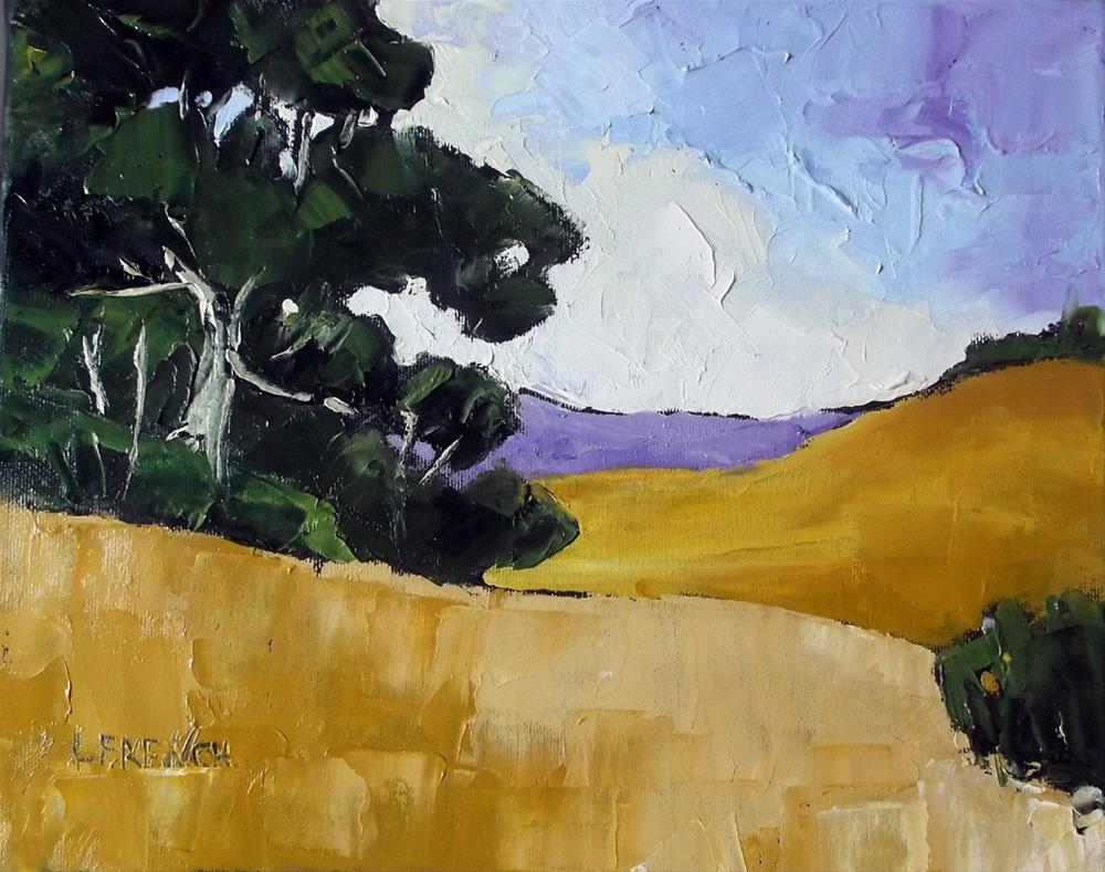 """California Santa Maria Meadows"" original fine art by lynne french"