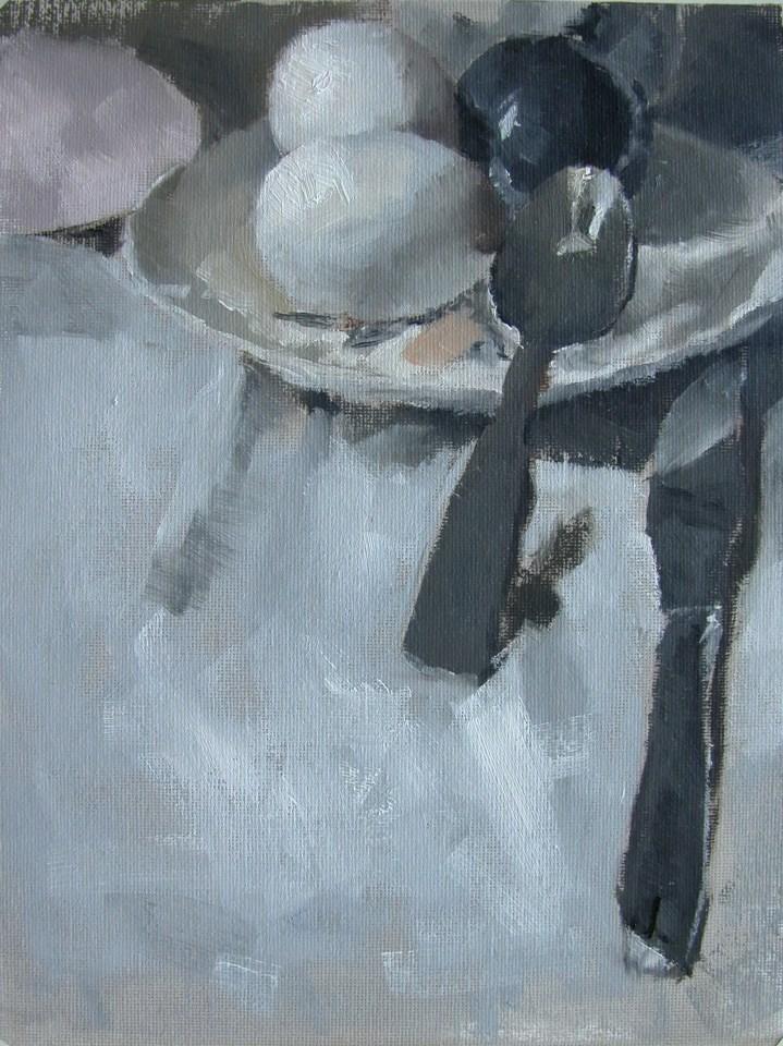 """Eggs"" original fine art by Richard Jones"