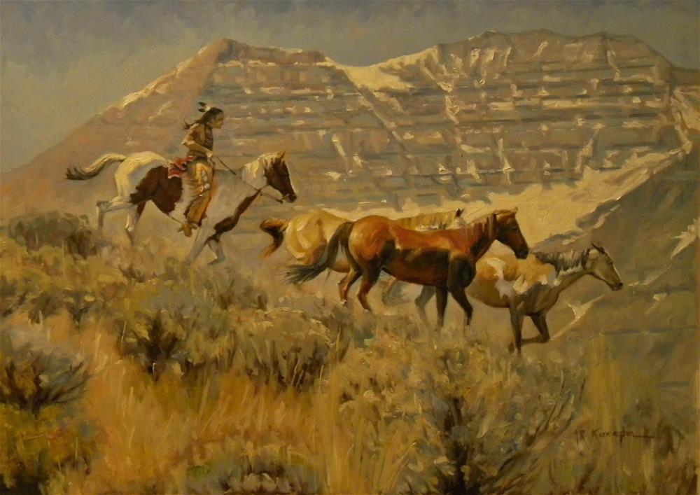 """Timpanogos (Sold)"" original fine art by Rick Kennington"