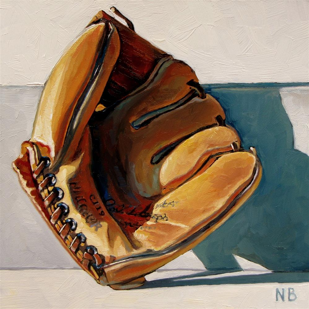 """Put Me In, Coach!"" original fine art by Nora Bergman"