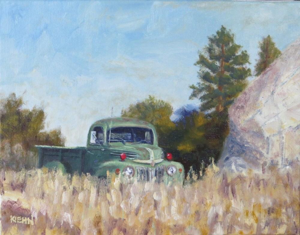 """""""Field of Dreams"""" original fine art by Richard Kiehn"""