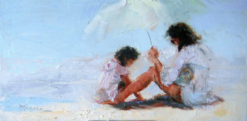 """My  Little Shadow"" original fine art by Marcia Hodges"