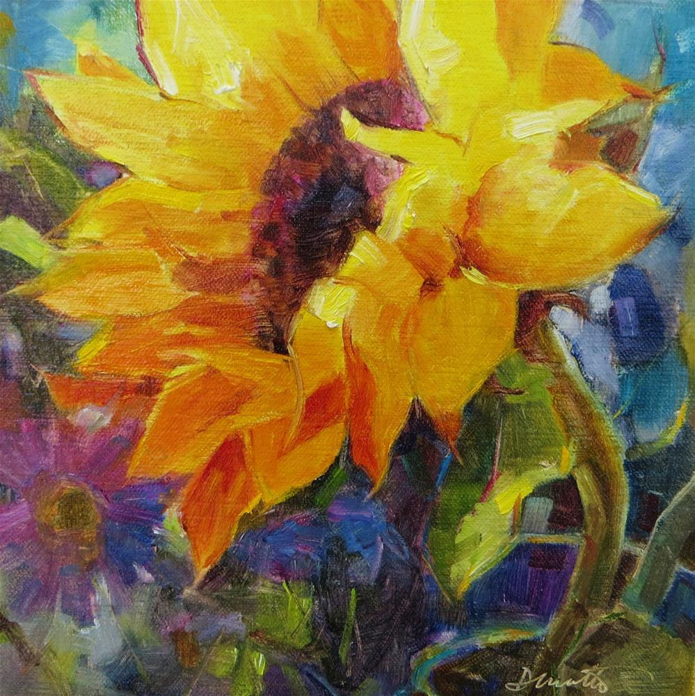 """Good Day Sunshine"" original fine art by Scarlet Owl Studio"