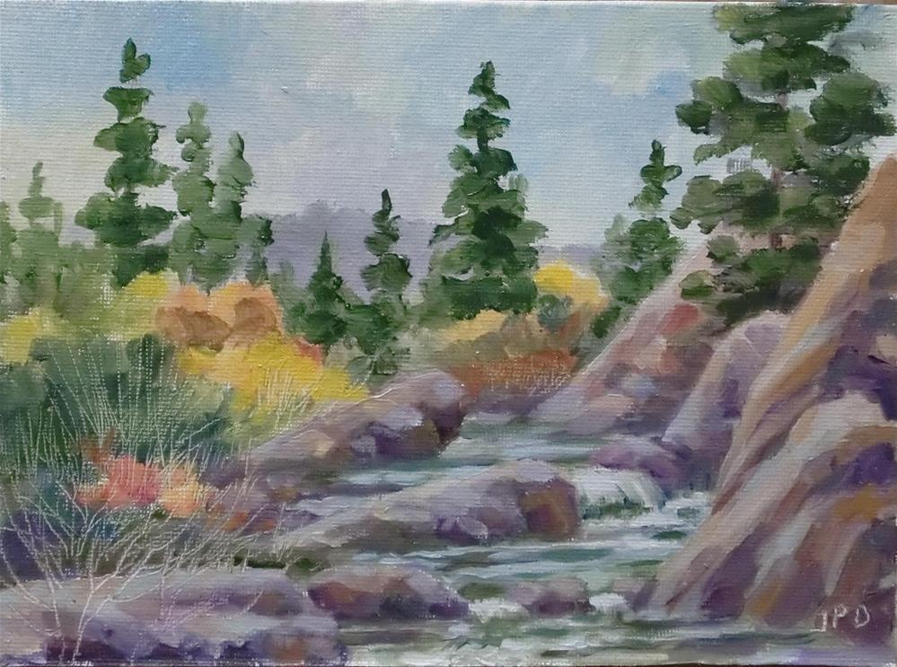 """11 Mile Canyon"" original fine art by Jean Pierre DeBernay"