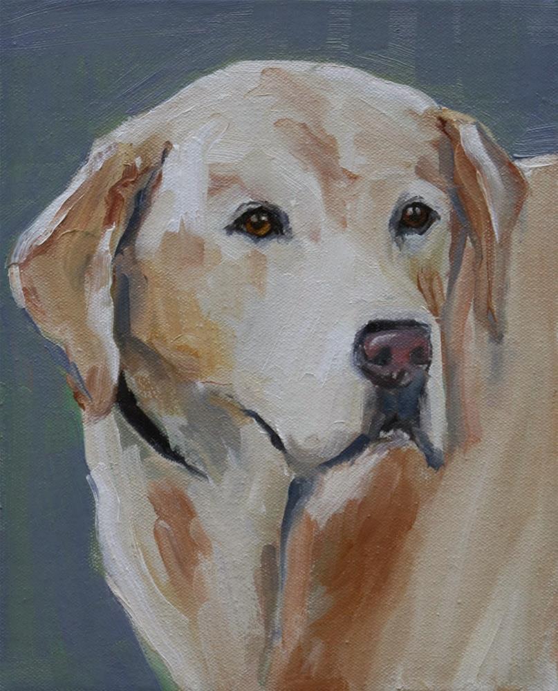 """Lucky"" original fine art by Carol Carmichael"