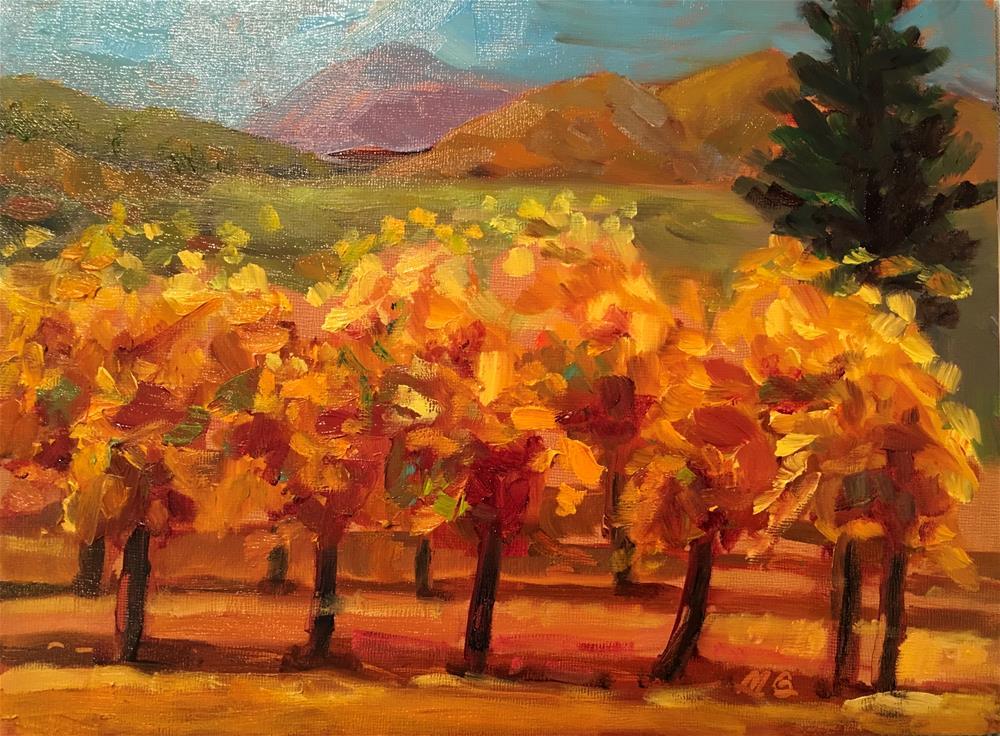 """Fall Vines"" original fine art by Marcia Bergtholdt"