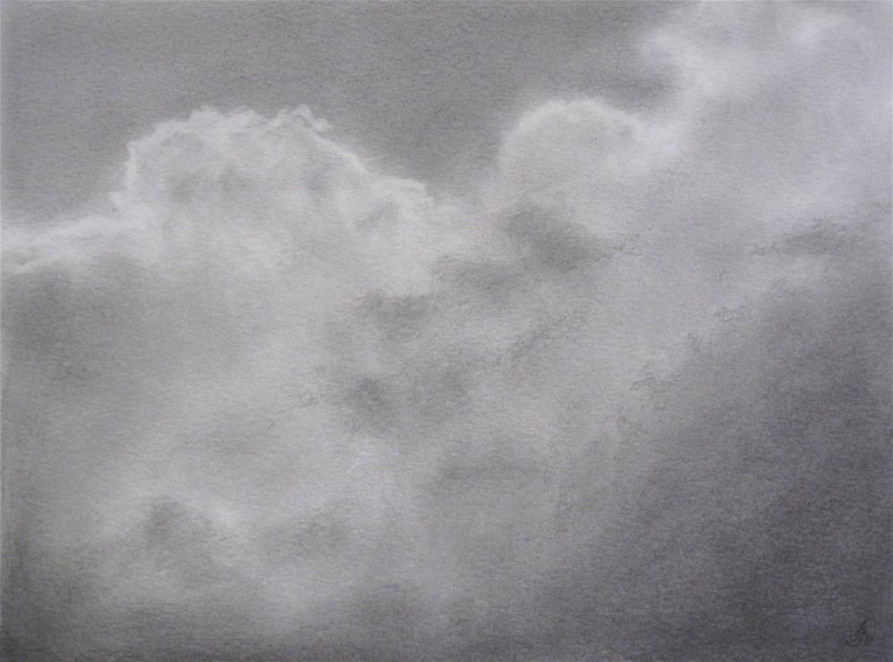 """Clouds I"" original fine art by Anna Starkova"
