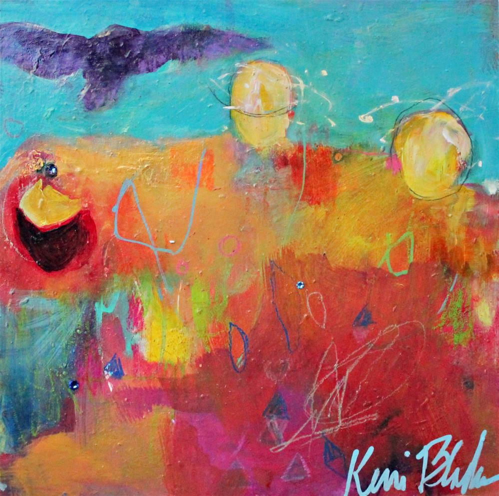 """Give the Owls a Place to Land"" original fine art by Kerri Blackman"