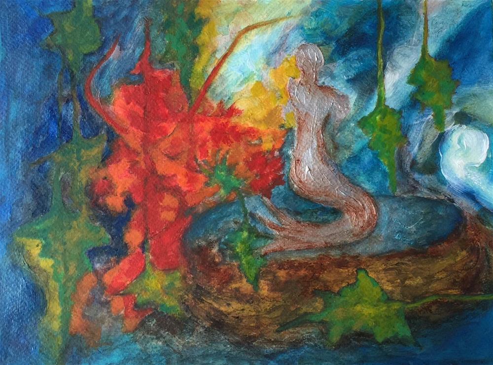 """""""Garden"""" original fine art by Monica Pinotti"""